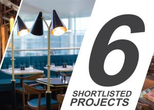 Six Projects Shortlisted in the Restaurant & Bar Design Awards 2015