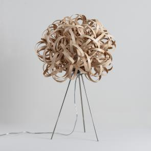 Tom Raffield No.1 Table Lamp Ash