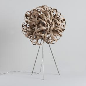Tom Raffield No.1 Table Lamp Oak