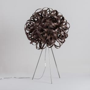 Tom Raffield No.1 Table Lamp Walnut