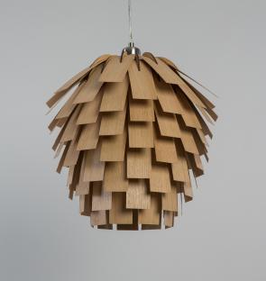 Tom Raffield Scots Light Pendant Oak
