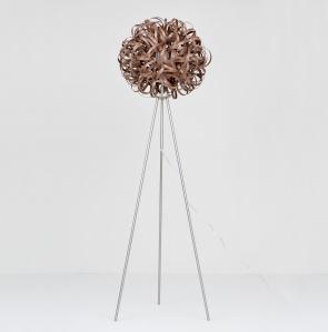 Tom Raffield No.1 Floor Light Walnut